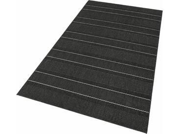Hanse Home Teppich »Fürth«, 200x290 cm, 8 mm Gesamthöhe (ca.), schwarz