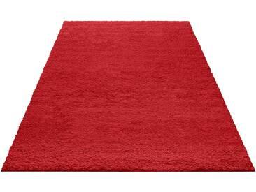 My Home Hochflorteppich »Bodrum«, 160x230 cm, 30 mm Gesamthöhe, rot