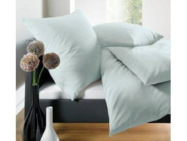 Schlafgut Bettwäsche »Leni«, 155x220 cm, Hpflegeleicht, grün, aus 100% Baumwolle