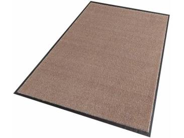 Hanse Home Teppich »Deko Soft«, 100x100 cm, 7 mm Gesamthöhe, braun
