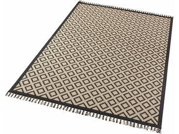 Hanse Home Teppich »Odense«, 200x290 cm, 3 mm Gesamthöhe, schwarz