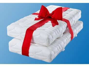 My Home Komfortschaummatratze »Luxus21«, 90x200 cm, weiß, 81-100 kg