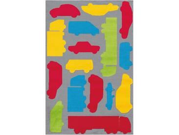Arte Espina Kinderteppich »Lol Kids 4433«, 100x150 cm, 11 mm Gesamthöhe, bunt