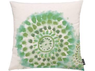 Emotion Textiles Kissenbezug »Batikblume«, grün