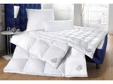 Balette Daunenbettdecken »Luxus«, 200x220 cm, weiß