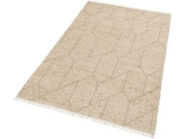 Schöner Wohnen-kollektion Teppich »Sense 183«, 170x240 cm, 15 mm Gesamthöhe, beige