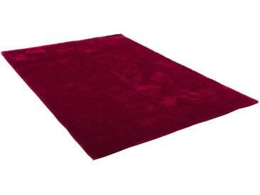Theko® Hochflor-Teppich »Alessandro«, 190x290 cm, 25 mm Gesamthöhe, rot