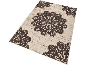 Hanse Home Teppich »Lace«, 120x170 cm, 9 mm Gesamthöhe, braun