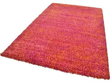 Theko® Hochflor-Teppich »Color Shaggy 521«, 57x90 cm, 35 mm Gesamthöhe, rot