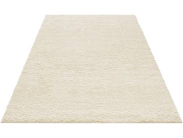 My Home Hochflor-Teppich »Bodrum«, 200x200 cm, 30 mm Gesamthöhe, beige