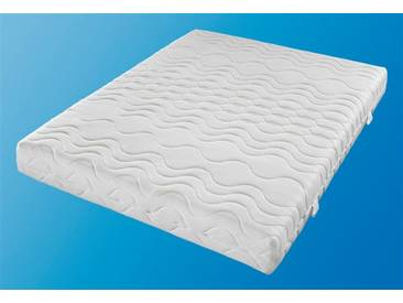 Beco Komfortschaum-Matratze »Frottee Premium«, 120x200 cm, weiß, 101-120 kg