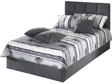 Westfalia Schlafkomfort Tagesdecke, 120/200 cm, grau