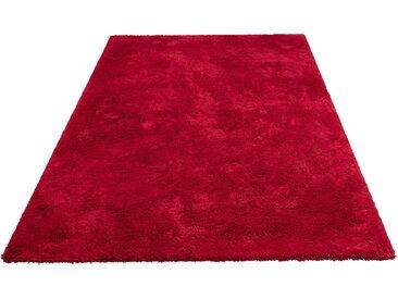My Home Hochflor-Teppich »Magong«, 60x90 cm, 25 mm Gesamthöhe, rot