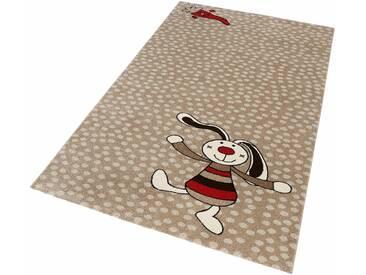 Sigikid Kinder-Teppich »Rainbow Rabbit«, 160x225 cm, fußbodenheizungsgeeignet, beige