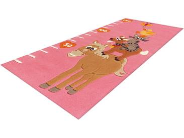 Arte Espina Kinderteppich »Joy 4168«, 75x160 cm, 16 mm Gesamthöhe, rosa