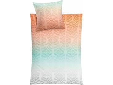 Kleine Wolke Bettwäsche »Lucero«, 155x220 cm, bunt, aus reiner Baumwolle