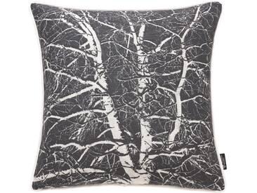 Emotion Textiles Kissenhülle »Birke«, schwarz
