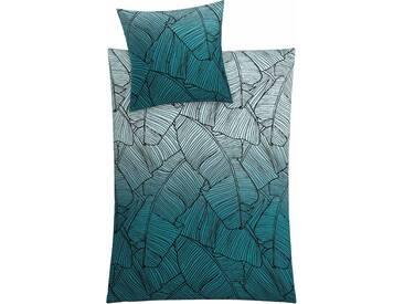 Kleine Wolke Bettwäsche »Vero«, 155x220 cm, aus 100% Baumwolle, grün