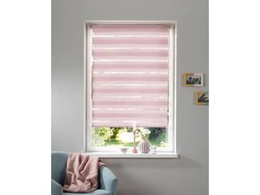 My Home Doppelrollo »Marano«, H/B 150/100 cm, einfache Montage ohne Bohren, rosa