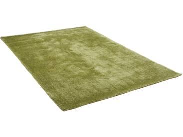 Theko® Hochflor-Teppich »Alessandro«, 65x135 cm, 25 mm Gesamthöhe, grün