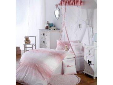Curt Bauer Babybettwäsche »Herzchen«, 40x60 cm, pflegeleicht, rosa