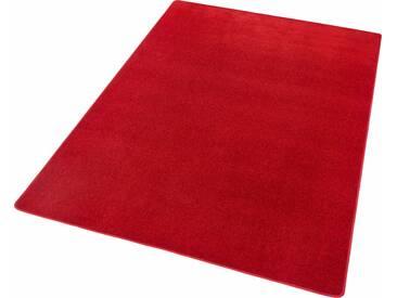 Hanse Home Teppich »Fancy«, 133x195 cm, 7 mm Gesamthöhe, rot