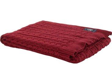 Tommy Hilfiger Plaid »American Classic«, 130x180 cm, aus 100% Baumwolle, rot