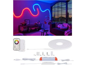 Paulmann LED-Streifen »MaxLED Flow Basisset 5m RGB inkl. Fernbedienung«, weiß