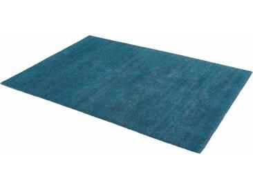 Schöner Wohnen-kollektion Teppich »Victoria Deluxe«, 140x200 cm, 18 mm Gesamthöhe, blau