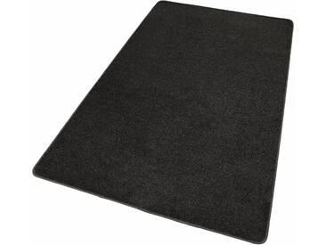 Hanse Home Teppich »Shashi«, 140x200 cm, 8,5 mm Gesamthöhe, schwarz