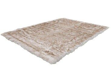 Kayoom Fellteppich »Crown 110«, 120x170 cm, 55 mm Gesamthöhe, weiß