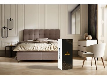 Schlaraffia Taschenfederkernmatratze »GELTEX® Quantum 200 TFK«, 1x 140x210 cm, weiß, 81-100 kg