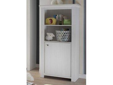 Standregal »Dandy«, Schlafwelt, mit 1 Tür und 2 verstellbaren Einlegeböden, weiß