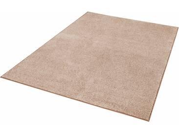 Hanse Home Teppich »Pure 100«, 80x150 cm, 13 mm Gesamthöhe, braun