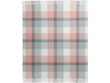 Biederlack Plaid »Conny Karo«, 130x170 cm, rosa