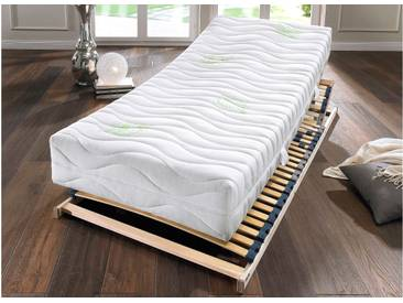 Hn8 Schlafsysteme Komfortschaum Matratze »Green HF«, 1x 90x200 cm, 7 Zonen Komfortschaummatratze, 0-80 kg
