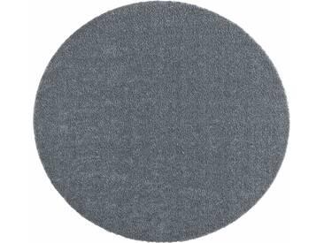 Hanse Home Teppich »Deko Soft«, 9 (Ø 75 cm), 7 mm Gesamthöhe, grau