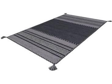 Arte Espina Teppich »Navarro«, 70x140 cm, 8 mm Gesamthöhe, grau