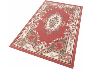 Theko® Teppich »Ming«, 160x230 cm, 14 mm Gesamthöhe, rosa