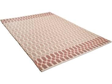 Tom Tailor Teppich »Small Pattern«, 140x200 cm, 7 mm Gesamthöhe, rot