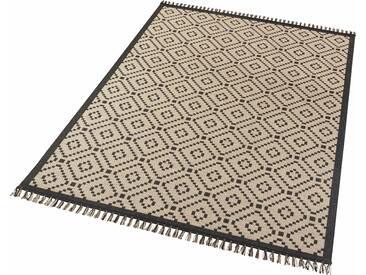 Hanse Home Teppich »Öresund«, 80x150 cm, 3 mm Gesamthöhe, schwarz
