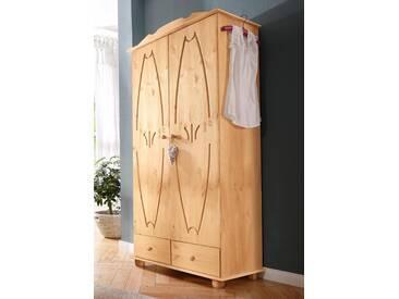 Home Affaire Kleiderschrank »Melody«, 2-türig, Breite 86 cm, beige, mit Schubkästen