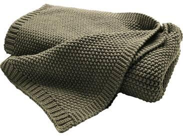 Biederlack Wohndecke »Cosy Luxury«, 130x170 cm, grün