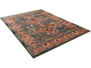 Theko® Orientteppich »Leonie«, 68x135 cm, 10 mm Gesamthöhe, grün