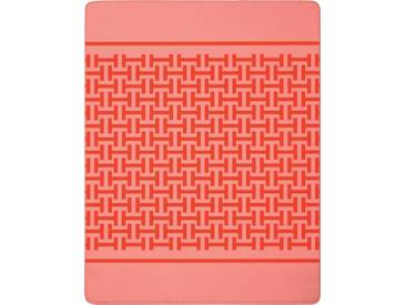 Biederlack Wohndecke »Havanna«, 150x200 cm, rosa