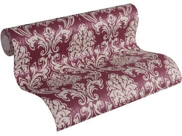 Esprit Vliestapete »Tapete Eccentric Luxury mit neo barocken Ornamenten«, rot