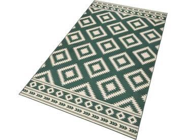 Hanse Home Teppich »Ethno«, 120x170 cm, 9 mm Gesamthöhe, grün
