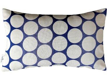Tom Tailor Kissenbezug »Pellet 1«, 50x30 cm, blau, blickdichter Stoff