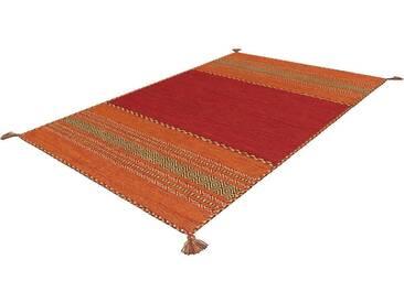 Arte Espina Teppich »Navarro«, 70x130 cm, 8 mm Gesamthöhe, rot