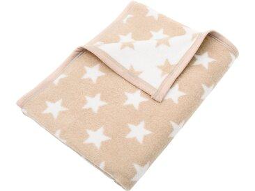 Sei Design Baby-Decke »Sterne«, 90x120 cm, beige